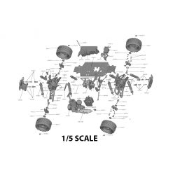 1/5 Scale RC Parts
